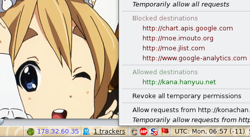 Mugi on RequestPolicy