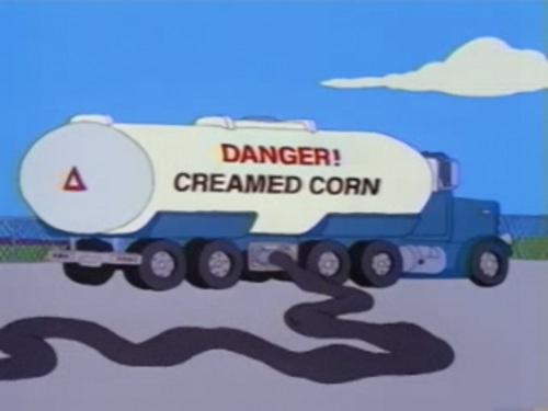 Creamed Corn Tanker