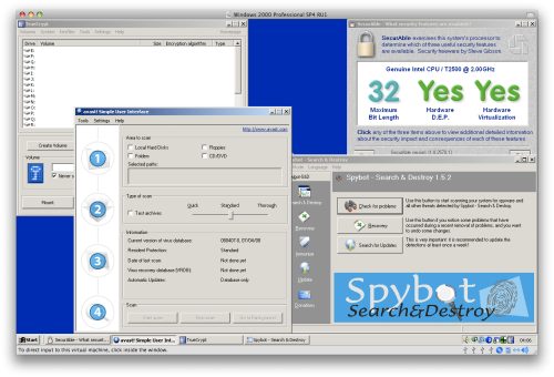 Windows 2000 security apps in action