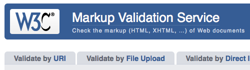 The W3C Validator