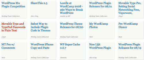 WordPress News on the Dashboard