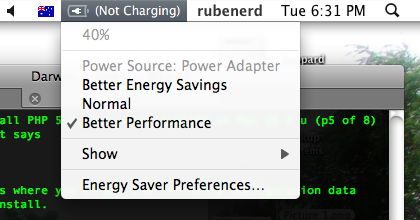 Seems my MacBook Pro wasn't the only thing not charging!