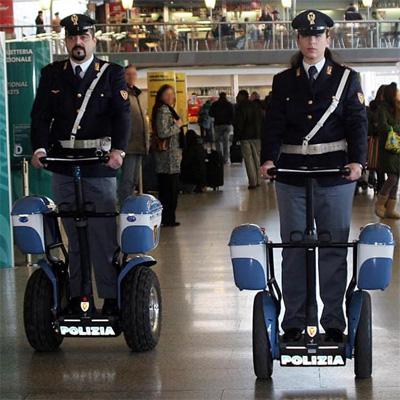 Italian Segway Cops!