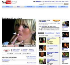 YouTube Cigarette Videos